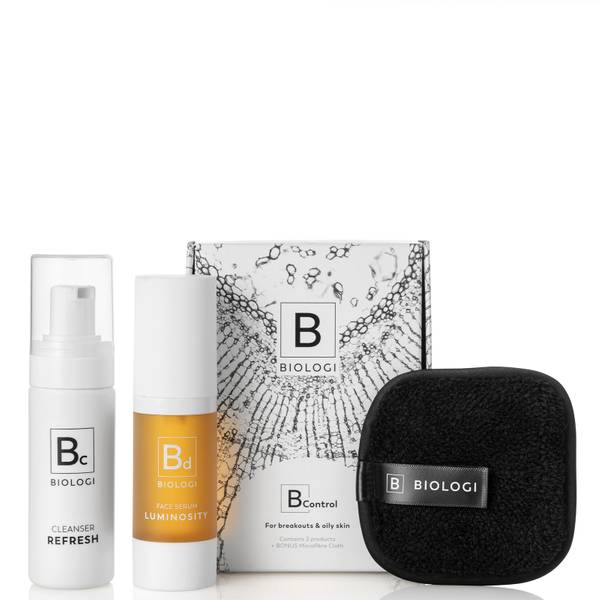 Biologi B Control Skin Concern Bundle for Oily and Breakout Prone Skin