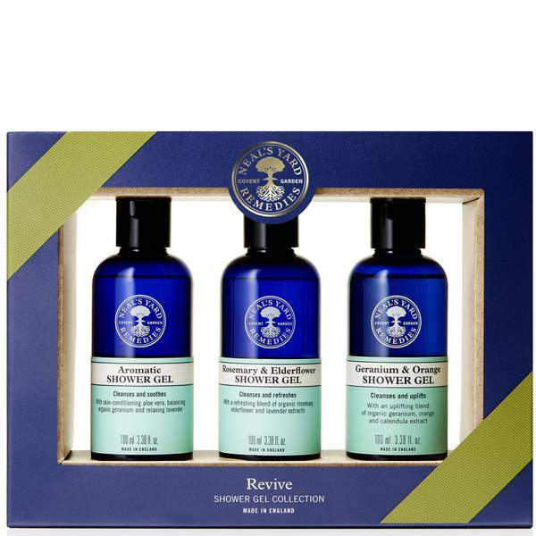 Neal's Yard Remedies Revive Shower Gel Collection (Worth £21.00)
