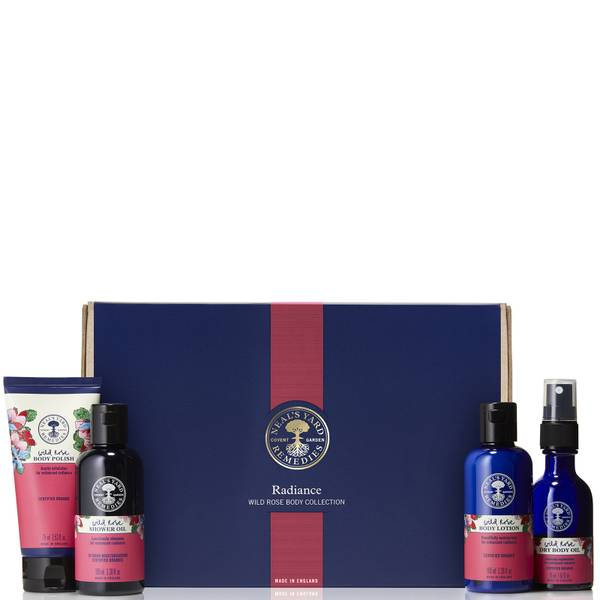 Neal's Yard Remedies Radiance Wild Rose Body Collection (Worth £50.00)
