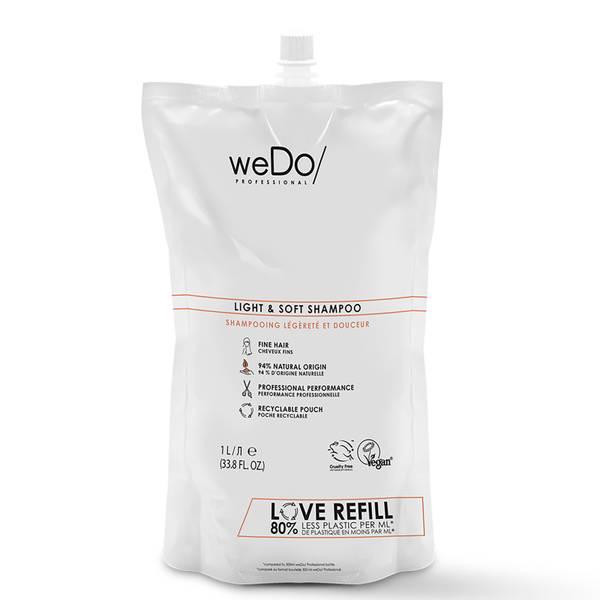 weDo/ Professional Light and Soft Shampoo Pouch 1000ml