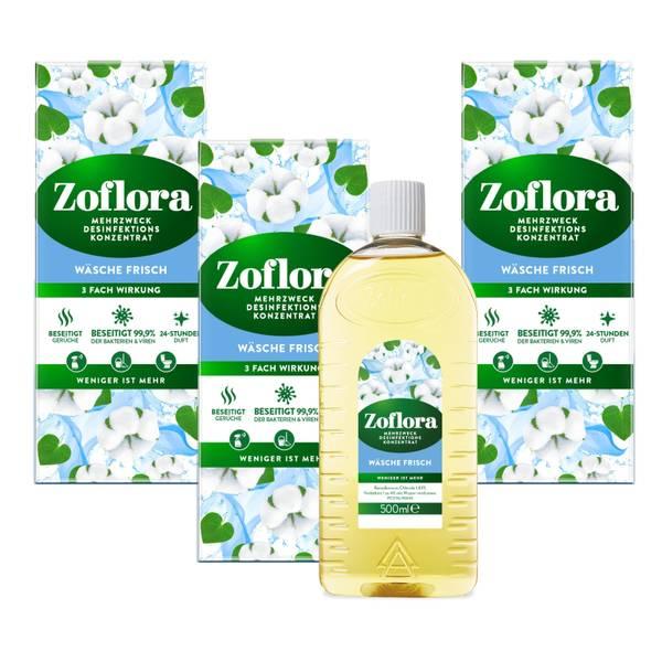 Wäsche Frisch Mehrzweck Desinfektionsmittel-Konzentrat 3x500 ml Vorteilspack
