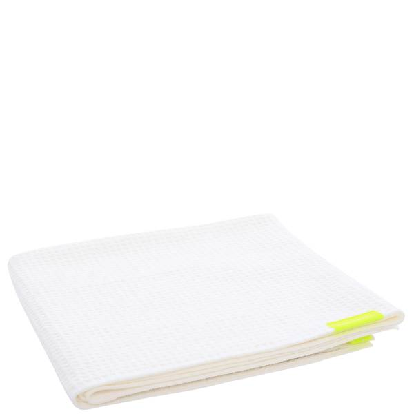 Aquis AON Waffle Towel White