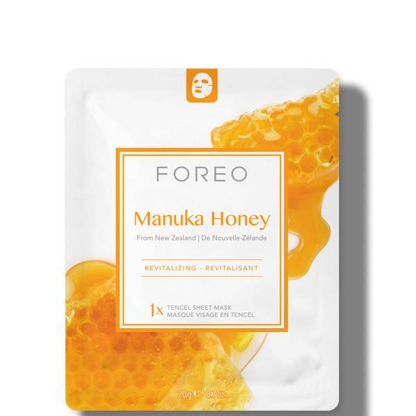 FOREO Manuka Honey Revitalising Sheet Face Mask (3 Pack)