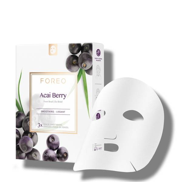 FOREO Acai Berry Firming Sheet Face Mask (3 Pack)