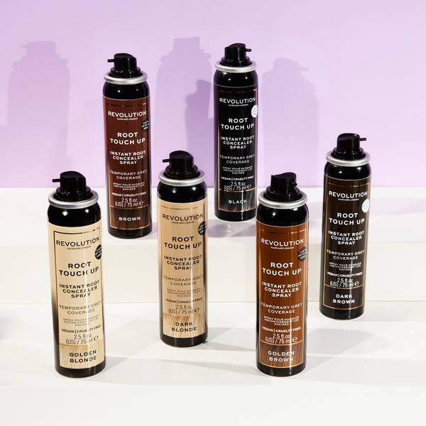 Revolution Haircare Root Touch Up Spray 10ml (Various Colours)