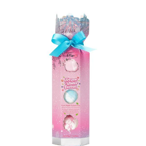 Bubble T Cosmetics Frozen Winter Berries Bath Fizzer Cracker