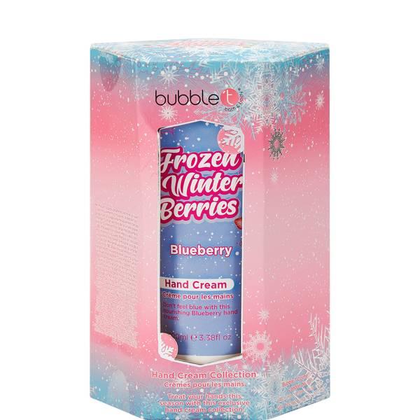 Bubble T Cosmetics Trío de cremas de manos de bayas de invierno congeladas