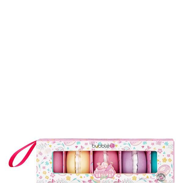 Bubble T Cosmetics Sweetea Macaron Bath Fizzer