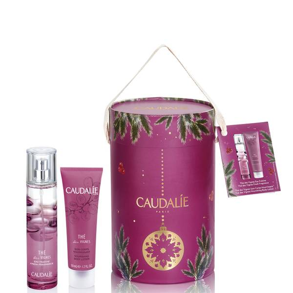 Caudalie The Des Vignes Fragrance and Body Trio Set