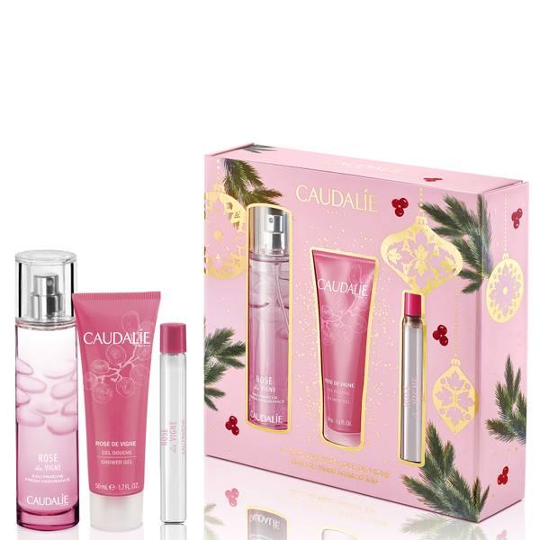 Caudalie Rose De Vignes Fragrance and Body Trio Set