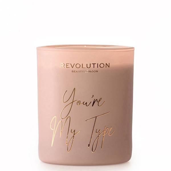 Revolution Home You're My Type Scented Candle 10g