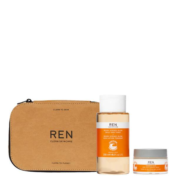 REN Clean Skincare All is Bright Set (Worth £76)