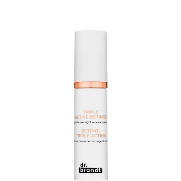 Dr. Brandt Triple Active Retinol Gentle Overnight Renewal Cream 30g