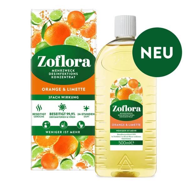 Orange & Limette Mehrzweck Desinfektionsmittel-Konzentrat 500ml