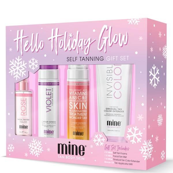 Mine Tan Hello Holiday Glow Set