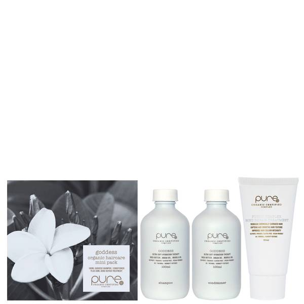 Pure Goddess Organic Haircare Mini Trio Pack