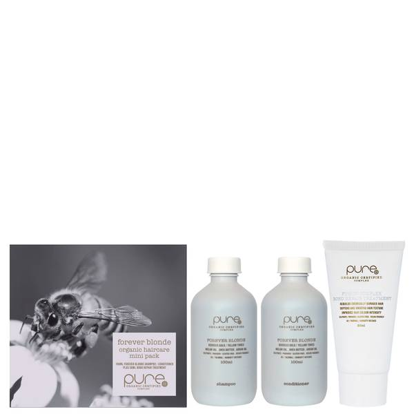 Pure Forever Blonde Organic Haircare Mini Trio Pack