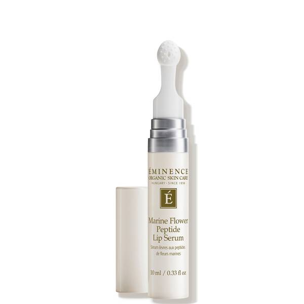 Eminence Organic Skin Care Marine Flower Peptide Lip Serum 0.33 oz
