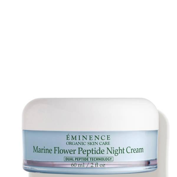 Eminence Organic Skin Care Marine Flower Peptide Night Cream 2 oz