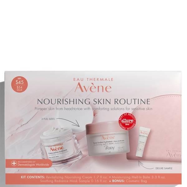 Avène Nourishing Skin Routine