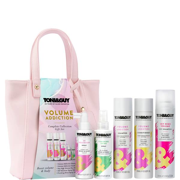 Toni & Guy Volume Addiction Complete Collection Gift Set