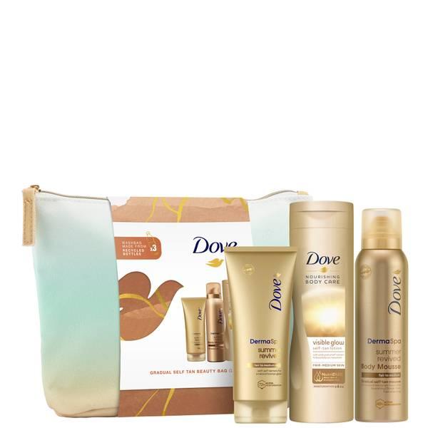 Dove Gradual Self-Tan Beauty Bag
