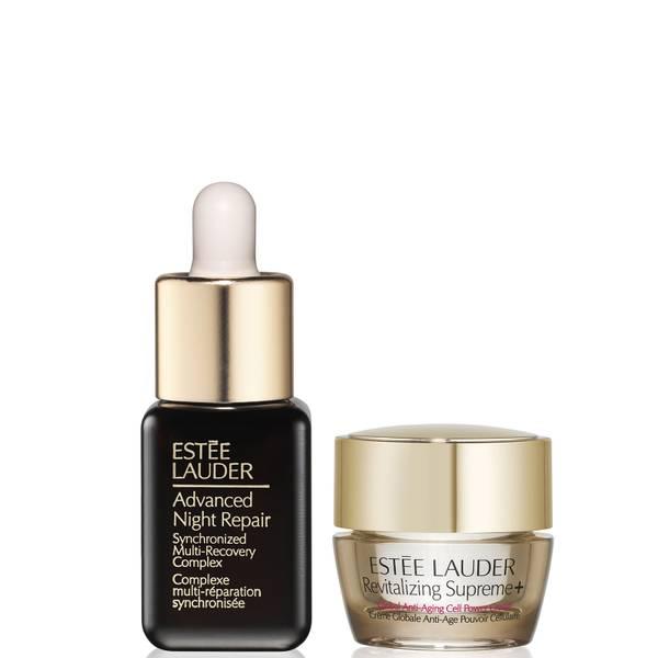 Estée Lauder Advanced Night Repair Serum 7ml and Revitalizing Supreme+ Global Anti-Aging Creme 7ml