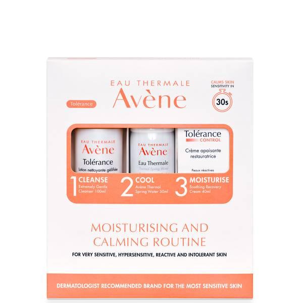 Avène Tolerance Moisturising and Calming 3-Step Routine Kit for Very Sensitive Skin