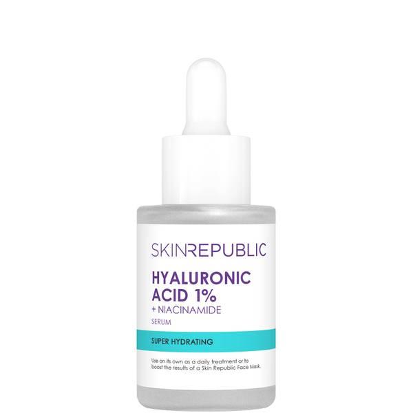 Skin Republic Skin Booster Hyaluronic Acid 1% and 2% Niacinamide Serum 30ml