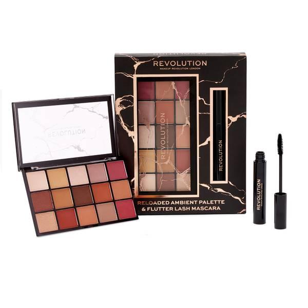 Revolution Reloaded Ambient Palette e Flutter Lash Mascara Set