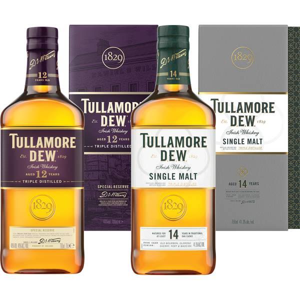 Tullamore D.E.W. Irish Whiskey Duo