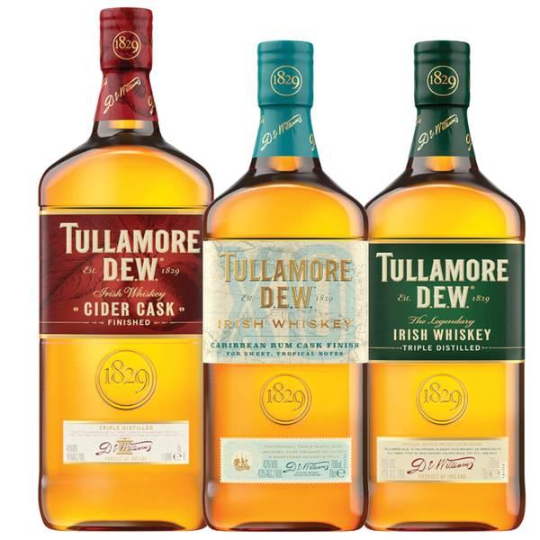Tullamore D.E.W. Irish Whiskey Cask Collection