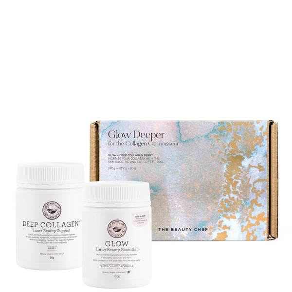 The Beauty Chef Glow Deeper Set - Berry (Worth $114.00)