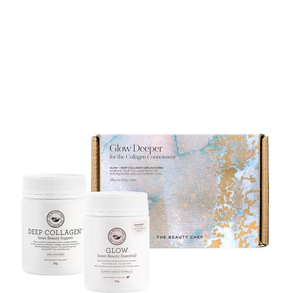 The Beauty Chef Glow Deeper Set - Unflavoured (Worth $114.00)