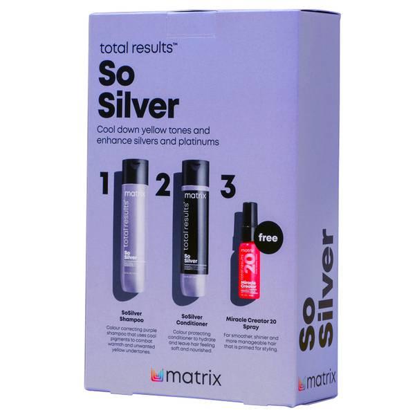 Matrix Total Results So Silver Gift Set