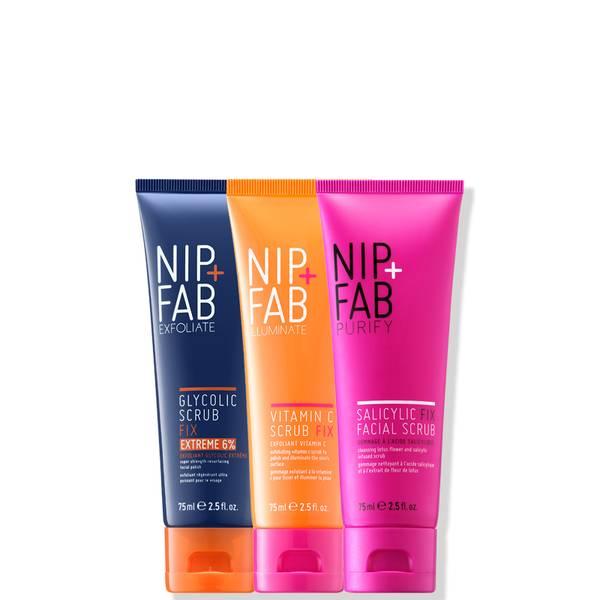 NIP+FAB Scrub Trio Bundle