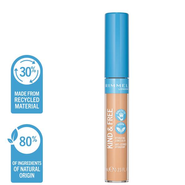 Rimmel Kind and Free Hydrating Concealer 7ml (Various Shades)