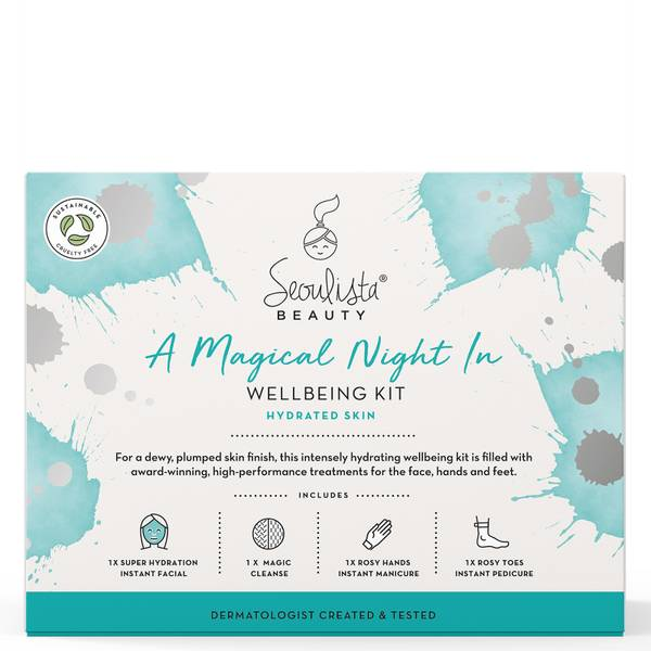 Seoulista Beauty A Magical Night In Wellbeing Kit - Ενυδατωμένη επιδερμίδα