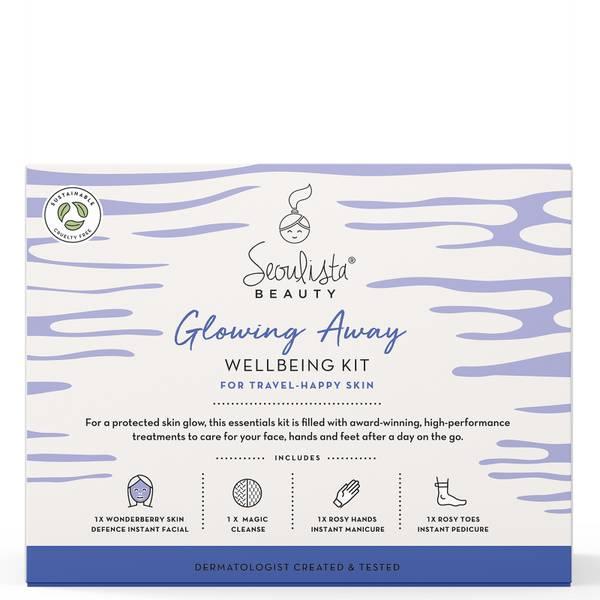 Seoulista Beauty Glowing Away Wellbeing Kit - Ταξίδι-Ευτυχισμένο Δέρμα