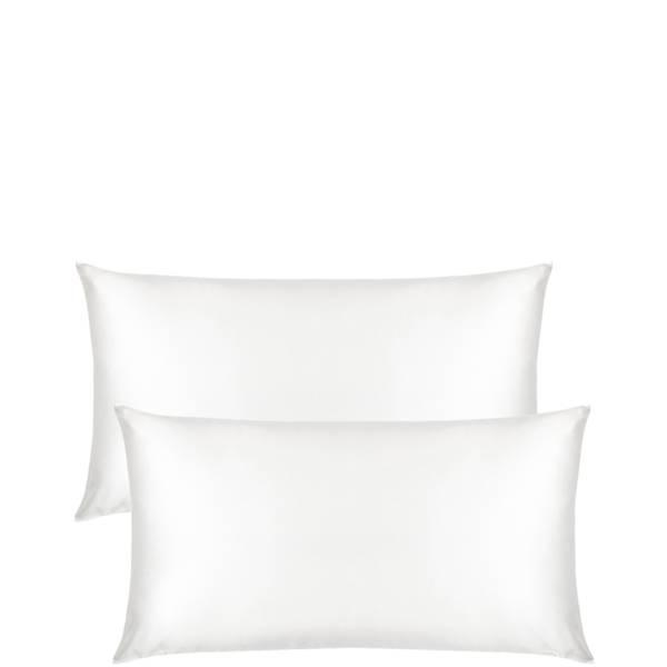 The Goodnight Co. Silk Pillowcase Twin Set King Size - White