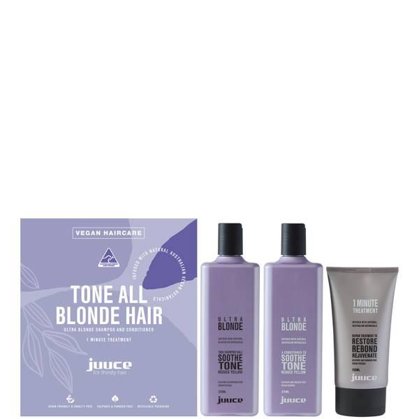 Juuce Ultra Blonde Trio Pack (Worth $89.95)