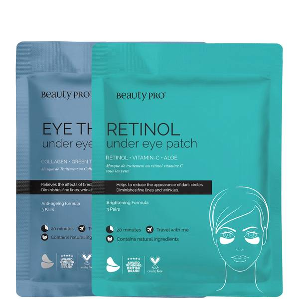 BeautyPro AM/PM Eye Routine Bundle (6 par)