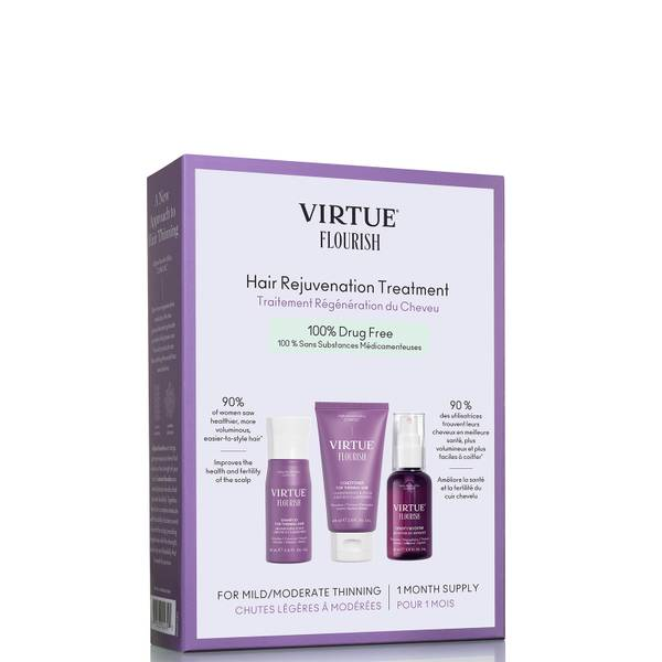 VIRTUE Flourish Hair Rejuvenation Treatment (1 Month Supply) 180ml
