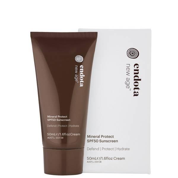 endota spa Mineral Protect SPF50 Sunscreen 50ml