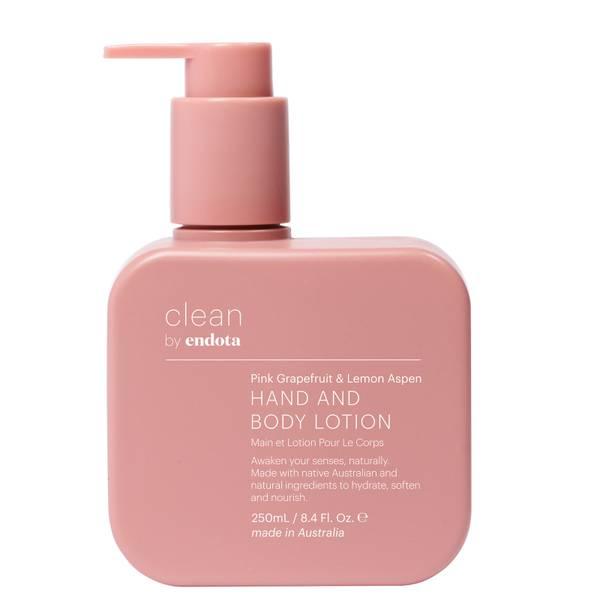 endota spa Pink Grapefruit and Lemon Aspen Hand and Body Lotion 250ml
