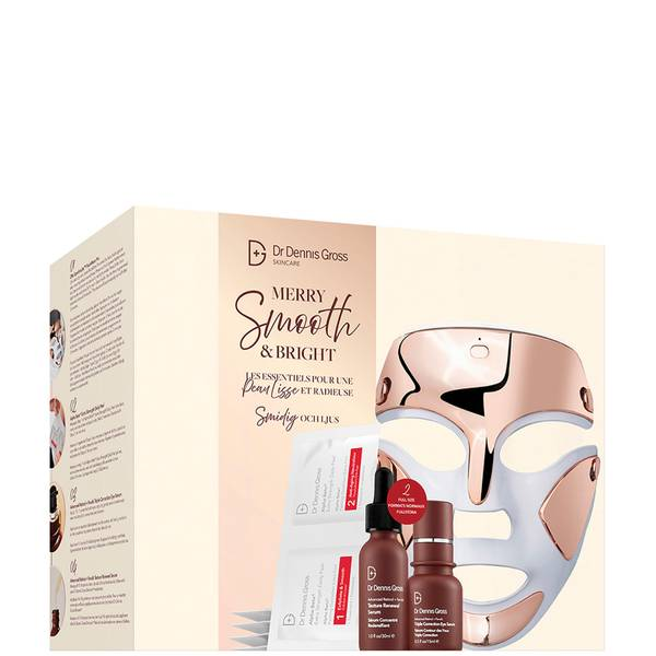 Dr Dennis Gross Skincare Merry, Smooth and Bright Set (Worth £593.00)