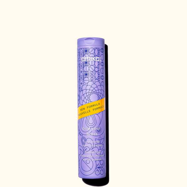 Amika Bust Your BrassCool Blonde Repair Shampoo