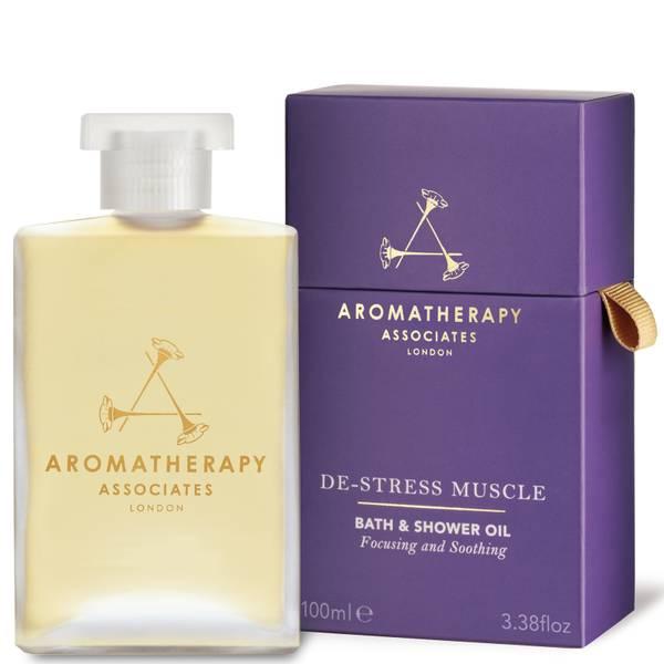 Aromatherapy Associates De-Stress Muscle Bath and Shower Oil 100ml