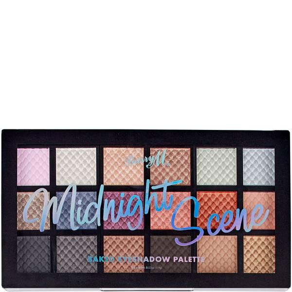 Barry M Cosmetics Baked Eyeshadow Palette - Midnight Scene