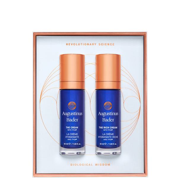 Augustinus Bader The Cream/The Rich Cream Travel Size Duo